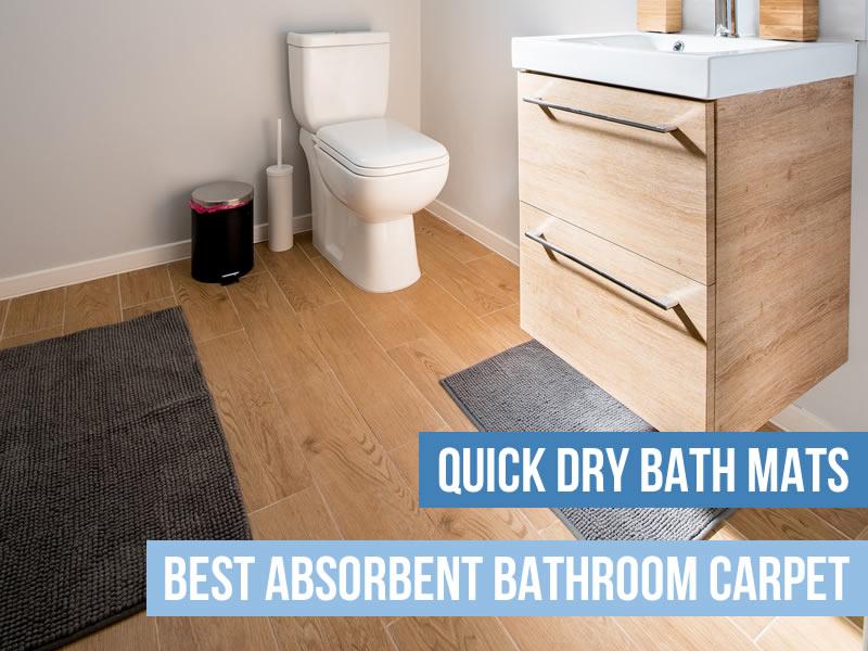Quick Dry Bath Mats