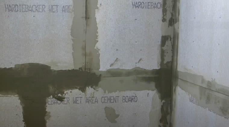 Hardie Backer Board For Shower Walls