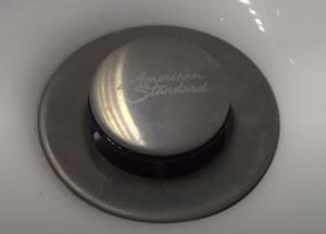 pop-up Sink Stopper Is Stuck Down