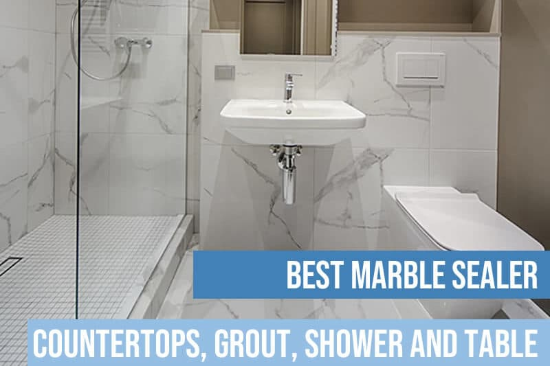 marble sealer for shower and countertops