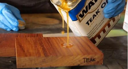 what is teak wood oil