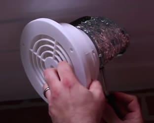 vent bath fan through soffit
